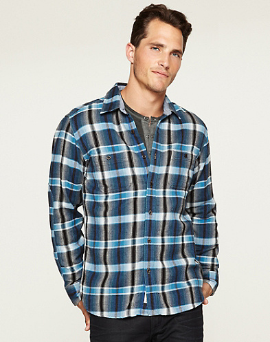 Wilcox Plaid Two-Pocket Shirt*