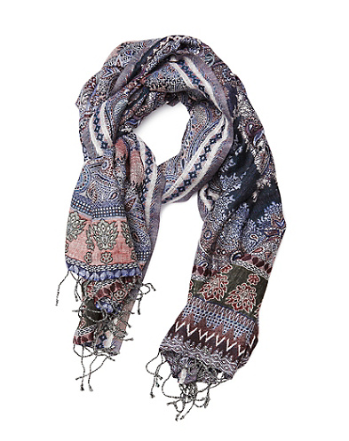 Yana Multi Printed Scarf