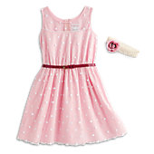 American Girl Pink Polka-Dot Outfit for Girls