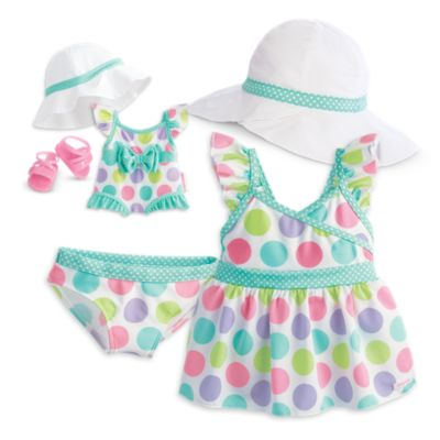 Darling Dots Tankini for Dolls & Girls