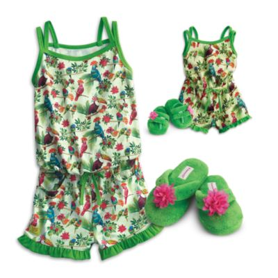 Rainforest Dreams PJ for Doll & Girl