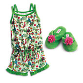 American Girl Lea Clark's Rainforest Dreams Pajamas & Slippers for Girls