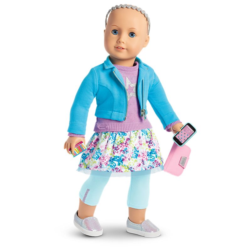 American Girl Truly Me™ Doll Without Hair #70 + Truly Me Accessories