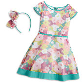 Bright Blooms Outfit for Girls