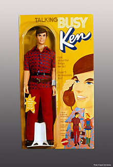 Talking Busy Ken® Doll—Original Outfit #1196