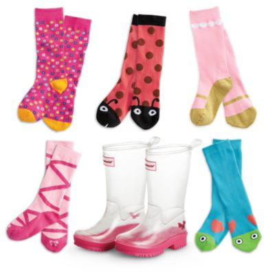 Wellies & Sock Set for Girls