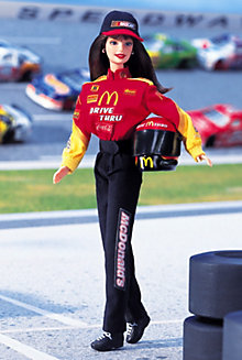 NASCAR® Official #94 Barbie® Doll