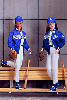 Los Angeles Dodgers™ Barbie® Doll
