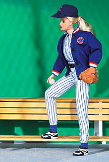 Chicago Cubs™ Barbie® Doll