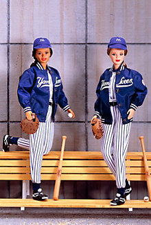 New York Yankees™ Barbie® Doll (African-American)