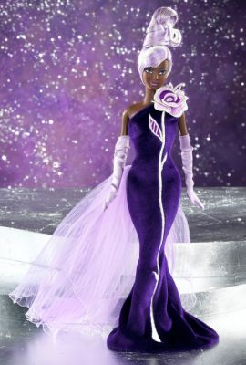 Sterling Silver Rose™ Barbie® Doll