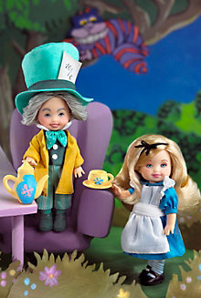Kelly® and Tommy™ as Alice & the Mad Hatter