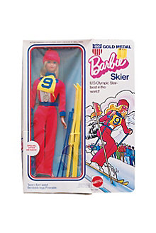Gold Medal Barbie® Doll Skier #7264