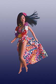 Hawaiian Barbie® Doll #7470