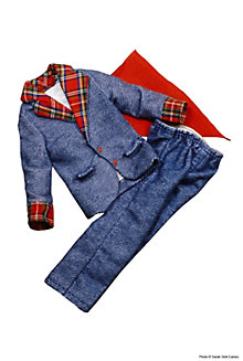 Blue Flannel Suit #8618