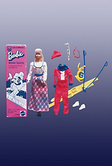 Barbie® Doll Gold Medal Winter Sports #9042