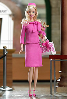Barbie® Doll as Elle Woods from Legally Blonde 2: Red, White & Blonde