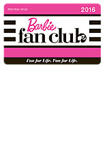 2016 Barbie™ Fan Club Membership