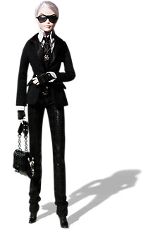 <em>Karl Lagerfeld</em> Barbie&#174; Doll