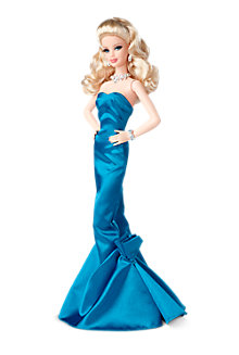 Red Carpet™ Barbie®—Blue Gown