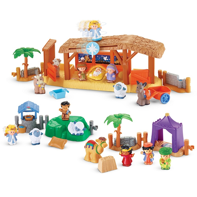 Fisher-Price Nativity Gift Set