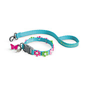BLOSSOMS COLLAR N LEASH-MYAG
