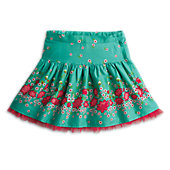 American Girl Ruby Garden Blooms Skirt for Girls