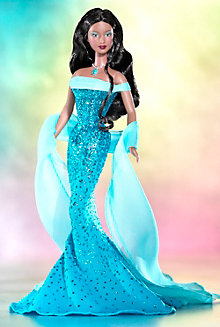 December Turquoise™ Barbie® Doll