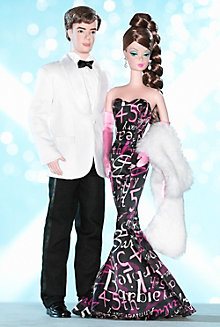 <em>45th Anniversary</em> Barbie&#174; Doll and Ken&#174; Doll Giftset