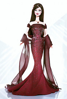 January Garnet™ Barbie® Doll
