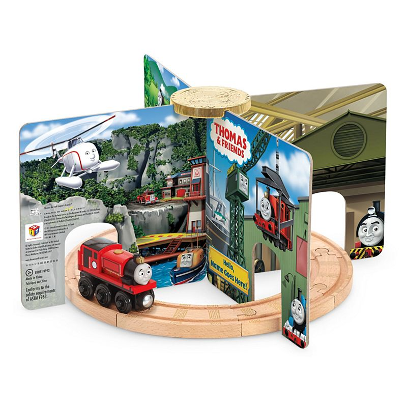 Image for Thomas & Friends Wooden Railway Really Useful Story Stand from Mattel