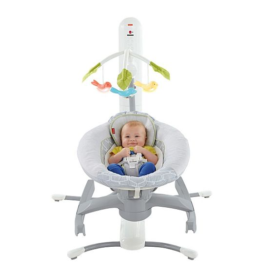 Silla mecedora 4 en 1 smart connect for Silla fisher price