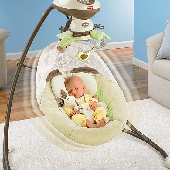 My Little Snugabunny Cradle N Swing With Smart Swing
