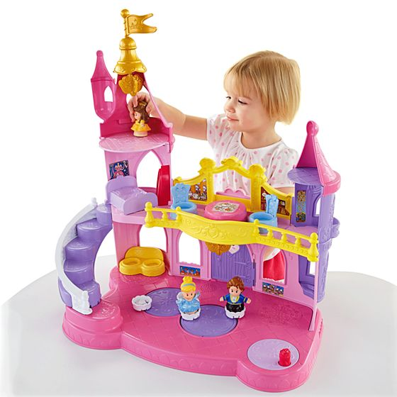 Musical Toys Age 7 : Disney princess musical dancing palace by little people