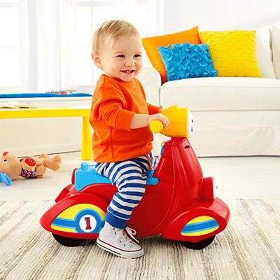 Foot-to-floor ride-on toys