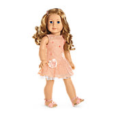 Shimmer & Lace Party Dress for Dolls