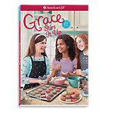 American Girl Grace Stirs it Up Book
