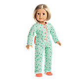 American Girl Kit's One-Piece Pajamas