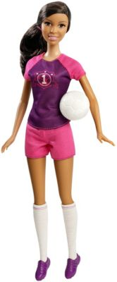 Mattel Brands: Mattel, Barbie, Fisher-Price & Hot Wheels - Barbie Soccer Player Nikki Photo