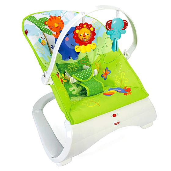 Rainforest Friends fort Curve™ Bouncer
