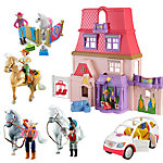 Fisher-Price® Loving Family™ Dollhouse Gift Set (with Caucasian family)
