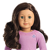 American Girl Truly Me Doll: Light Skin with Freckles, Dark Brown Hair, Hazel Eyes + Accessories