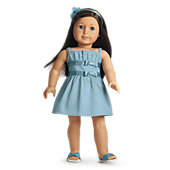 American Girl Double-Bow Dress