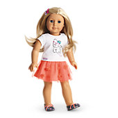 Coconut Cutie Outfit for Dolls