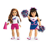 2-in-1 Cheer Gear for Dolls