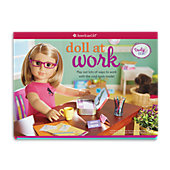 American Girl Doll at Work