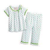 American Girl Flower-Print Pajamas for Girls
