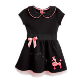 BF 1950 GIRL POODLE DRESS