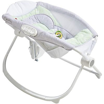 Deluxe Newborn Auto Rock N Play Sleeper With