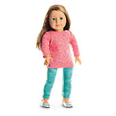 COOL CORAL OUTFIT FOR DOLLS